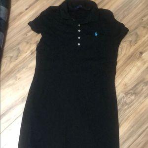 Ralph Lauren polo black dress
